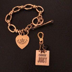 NWOT Juicy Couture Charm bracelet